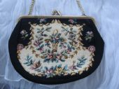 Vintage Machine Tapestry Purse - Bargain! SOLD